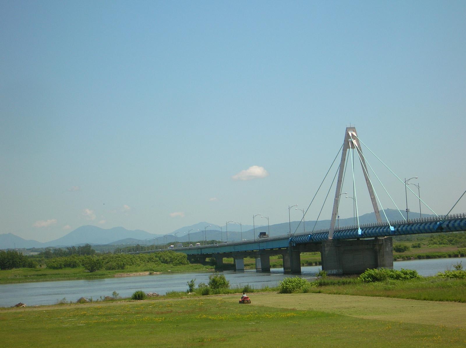 石狩河口橋: 癒し紀行